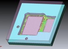 Multi chip module- embedded dies in cavitiy